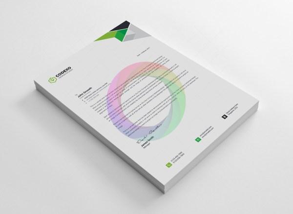 Clean Letterheads Design 5