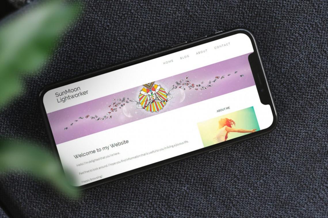 banniere web illustree pour web design therapeute energetique
