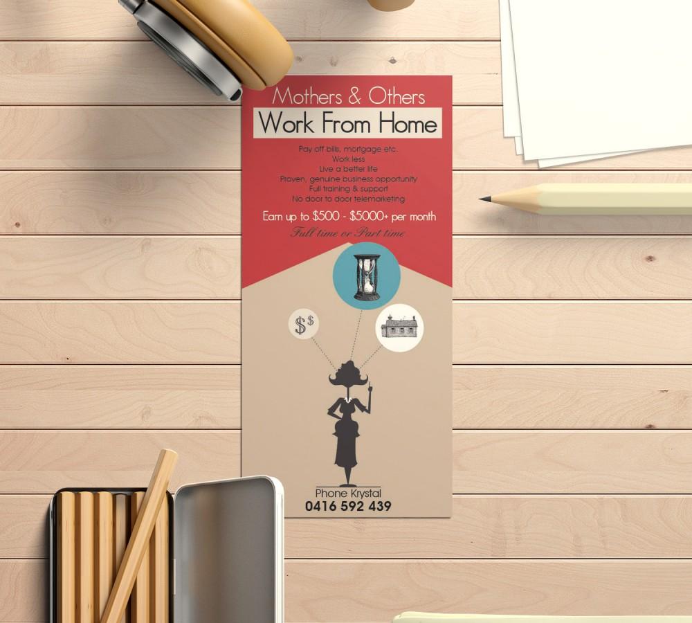 design de flyer illustration vectorielle
