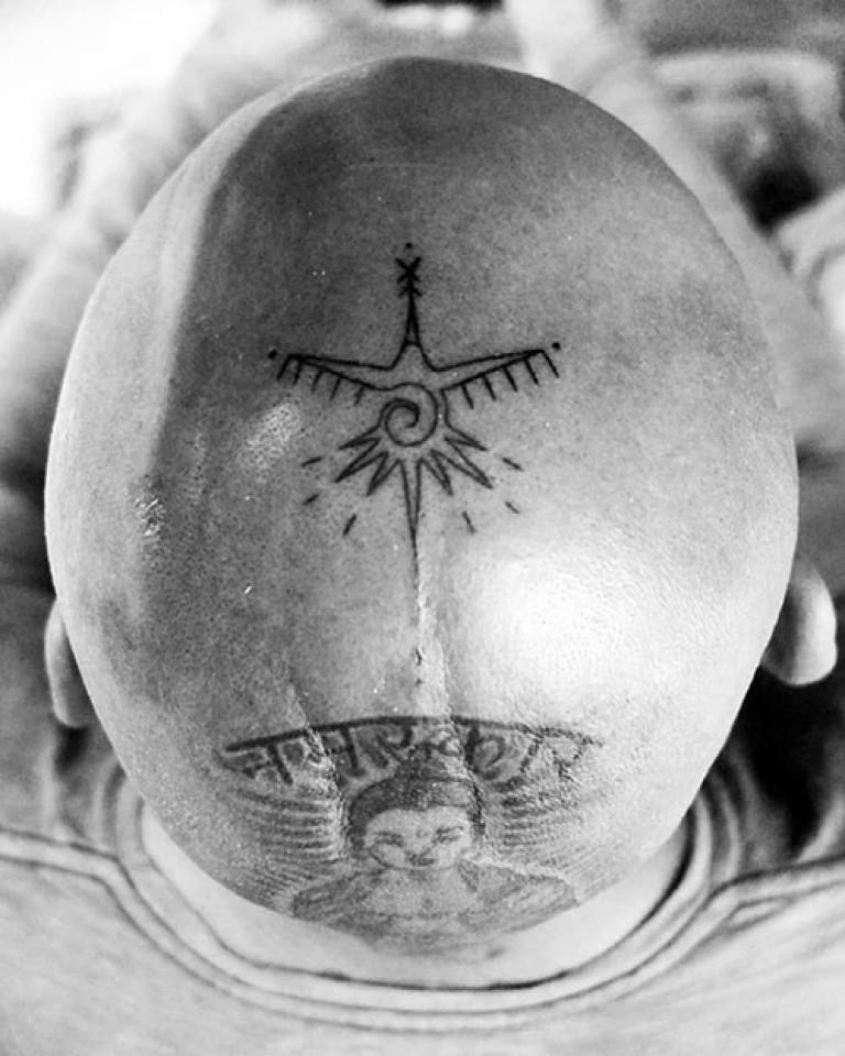 tatouage dessin symbole crane oiseau inca feminin masculin temps directionnel
