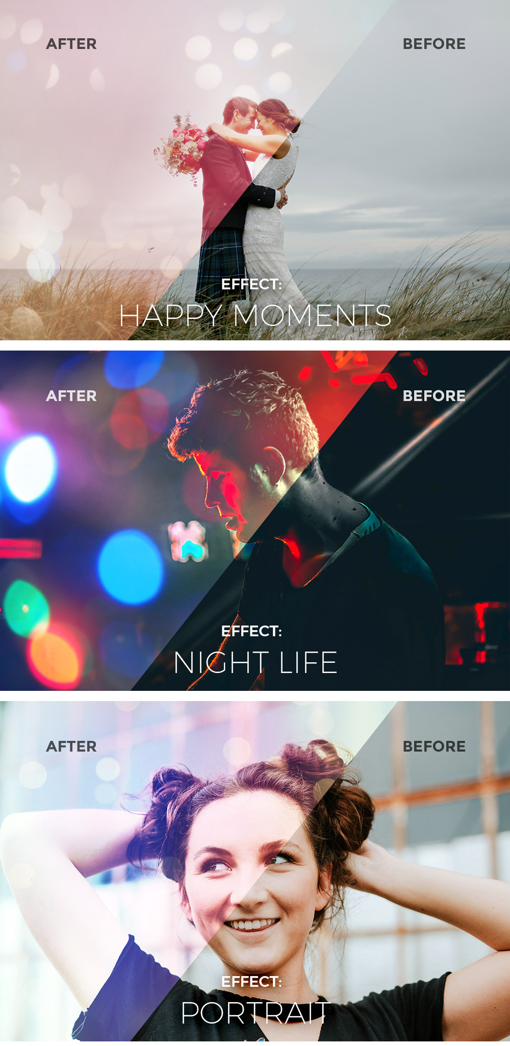 Light & Bokeh Photo Effects
