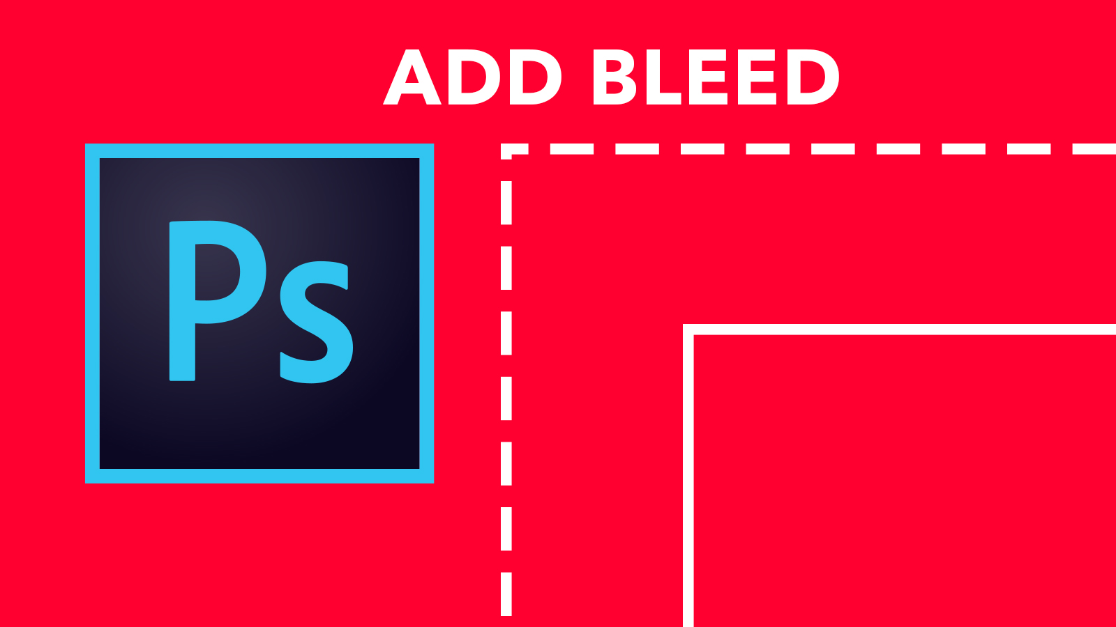 ADD BLEED IN PHOTOSHOP