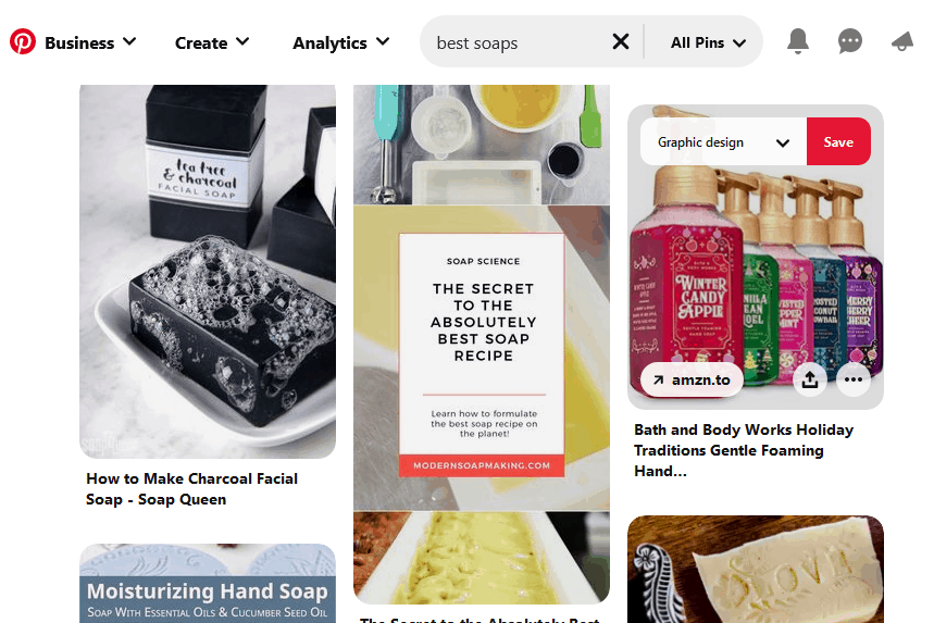 Pins designed for Pinterest marketing: Is graphic design dying?