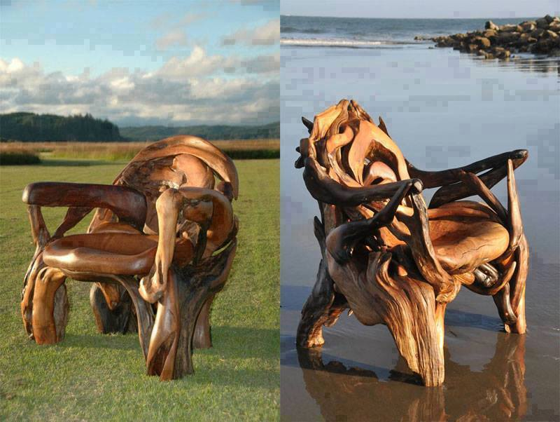 Best Carvings On Drift Wood And Wood Logs 1