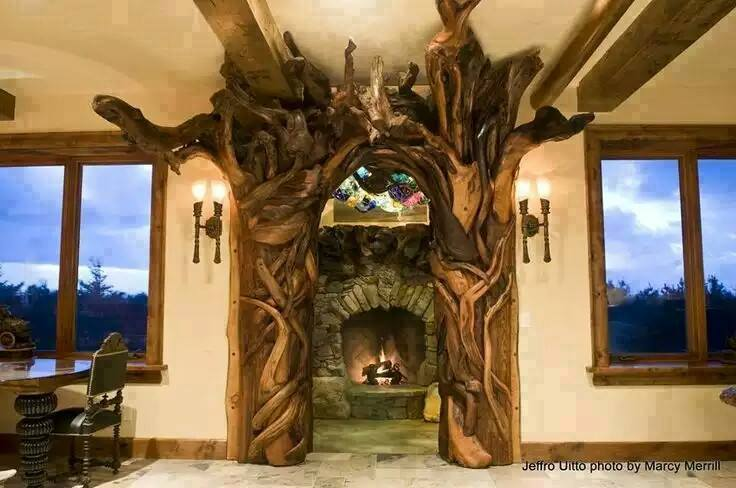 Best Carvings On Drift Wood And Wood Logs 14