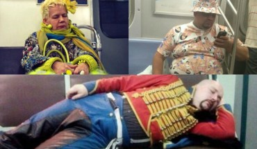 20 Hilarious Things People Saw While Riding The Subway