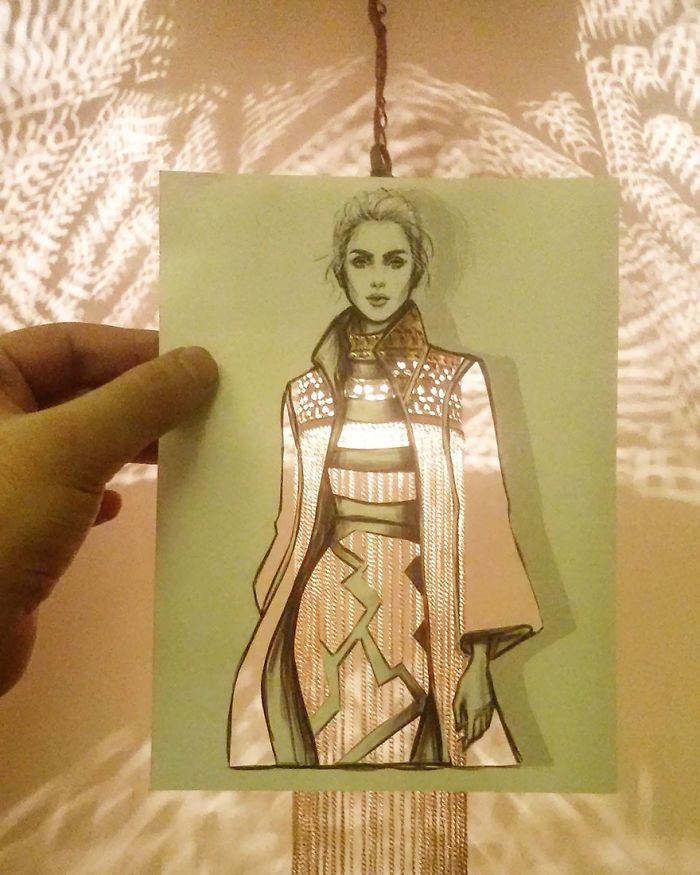 Shamekh Bluwi Uses The Environment To Complete His Fashion Illustrations (9)