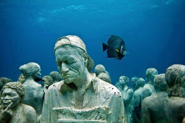 This Underwater Museum In Mexico  (4)