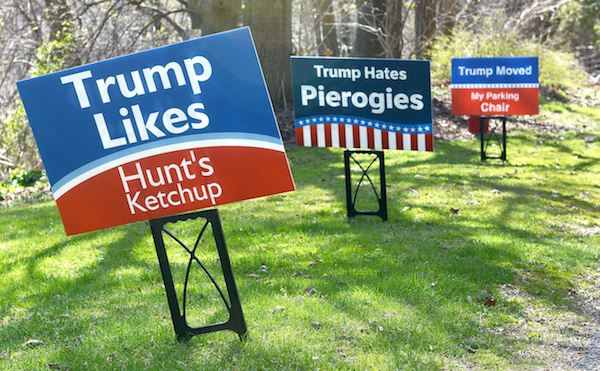 14 Hilarious Political Signs From The 2016 Presidential Campaign (2)