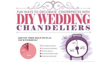 5 Ways To Make Centerpieces Using Wedding Chandeliers