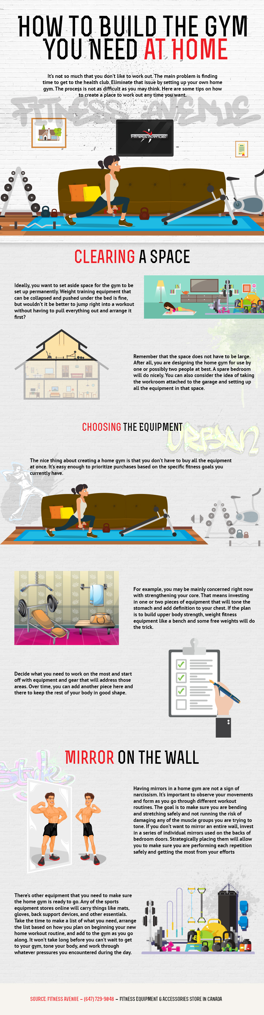 Learn How To Build Your Own Gym