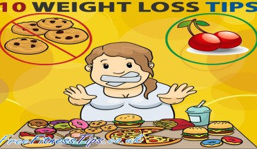 10 Simple Ways To Lose Weight  - Infographic