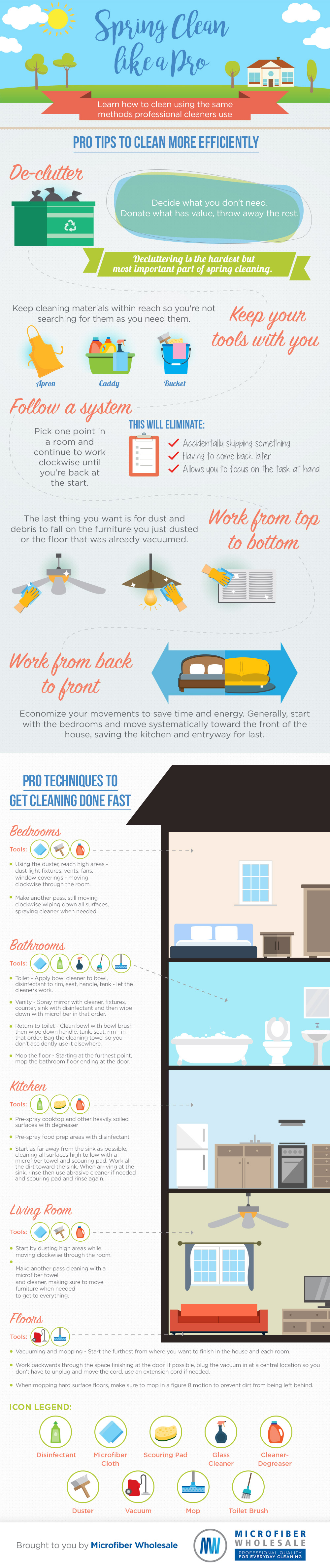 Pro-Level Cleaning Hacks - Infographic