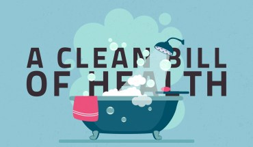 Psychological Benefits Of Taking A Bath - Infographic