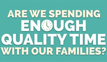 You Don't Spend Enough Quality Time With Your Family - Infographic