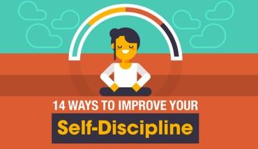 14 Scientific Ways To Enhance Your Self-Discipline - Infographic