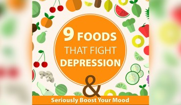 Anti-Depression foods - Infographic