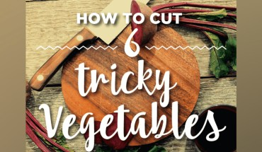 Tricky Vegetable Cutting Hacks - Infographic