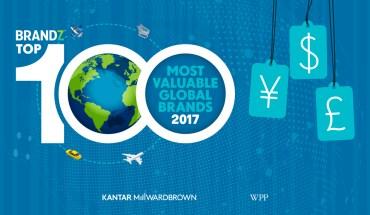 2017'S Top 100 Brands - Infographic