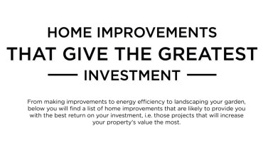 8 Ways To Increase The Value Of Your Home - Infographic