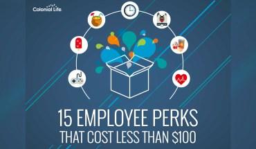 15 Employee Perks That Won't Break the Bank - Infographic