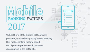 Mobile SEO Rankings for 2017 or How to Stay on Top of the List - Infographic
