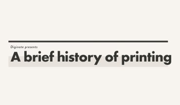 Tracing 2000 Years of Printing History - Infographic