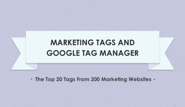 The Top 20 Website Tracking Tags - Infographic