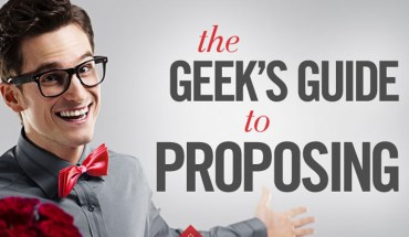 """Geeky Methods of Saying 'Will You Marry Me?"""" - Infographic"""