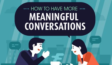 The Art of Having Meaningful Conversations - Infographic