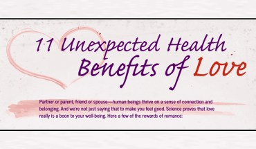 How Love Can Benefit Your Health - Infographic