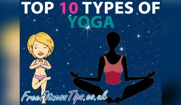 Types of Yoga - Top 10 - Infographic