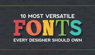 The Language of Fonts: 10 Versatile Fonts that are a Must for Digital Designers - Infographic