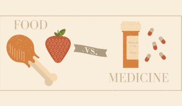 Eating Right Vs Medicating Right, You Choose! - Infographic