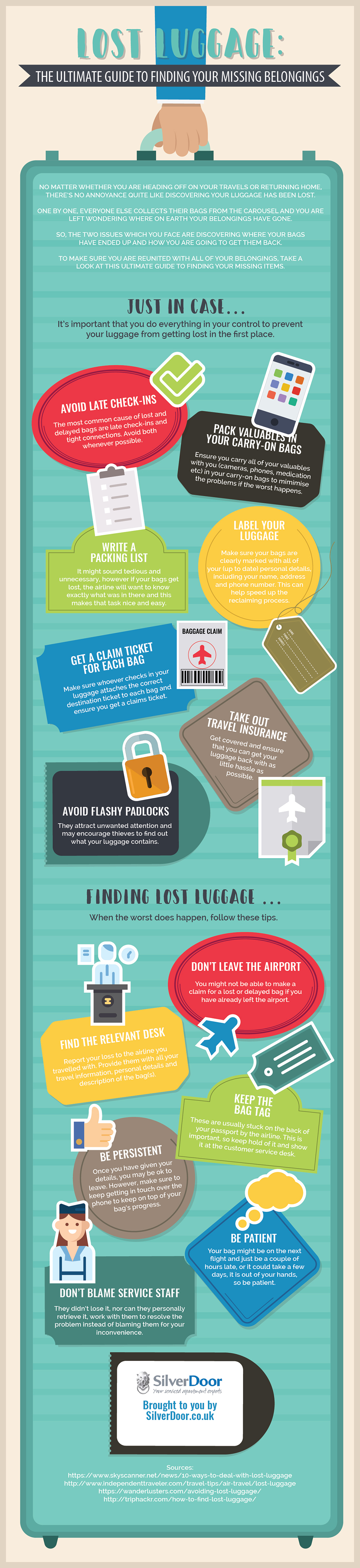 How to Retrieve Lost Luggage: The Ultimate Guide - Infographic
