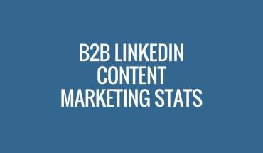 B2B Marketers Love LinkedIn: Numbers Speak - Infographic
