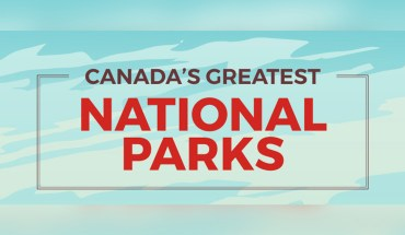 Hit the Trail: Canada's Finest National Parks - Infographic