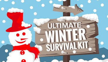 How to Manage Nightmarish Winter Roads: The Ultimate Winter Survival Kit - Infographic