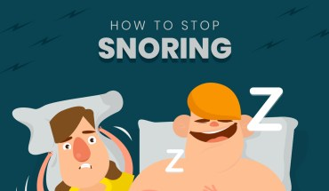 Stop Snoring Now, Here's How - Infographic