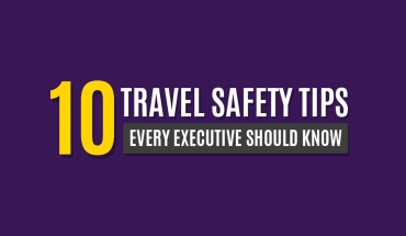 10 Travel Safety Tips Every Executive Should Know - Infographic