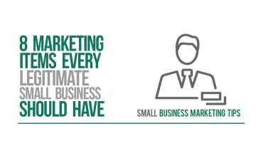8 Marketing Items that Are Key to Building Positive Impressions of Your Company – Infographic