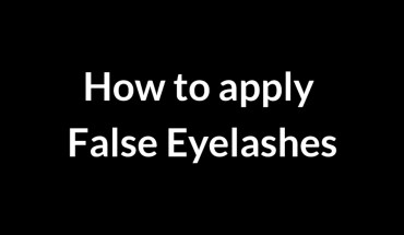 How to Become a Pro at Applying False Eyelashes in Just 9 Steps - Infographic