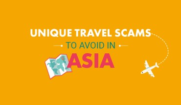 15 Tourist Scams in Asia You Should Watch Out For - Infographic