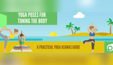 Yoga for Toning Specific Body Zones - Infographic