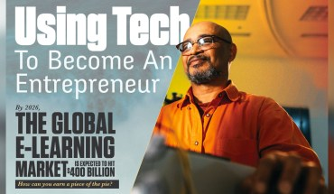 Using Tech To Become An Entrepreneur - Infographic