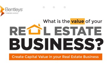What is the Value of Your Real Estate Business? - Infographic