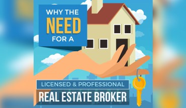 Why is a Licensed and Professional Real Estate Broker Necessary? - Infographic