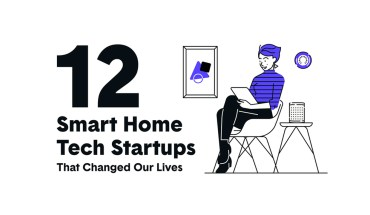 Smart Home Tech Startups that Changed the Game: 12 Benchmarking Examples - Infographic
