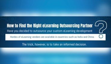 Guidelines for Choosing Your eLearning Outsourcing Partner - Infographic