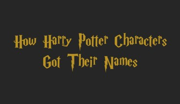 How J K Rowling Created the Names of Harry Potter Characters - Infographic